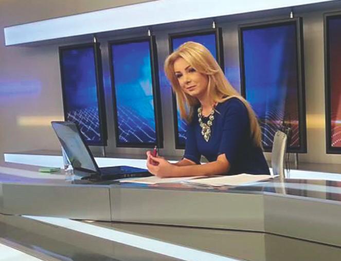 Ce a pățit frumoasa prezentatoare TV