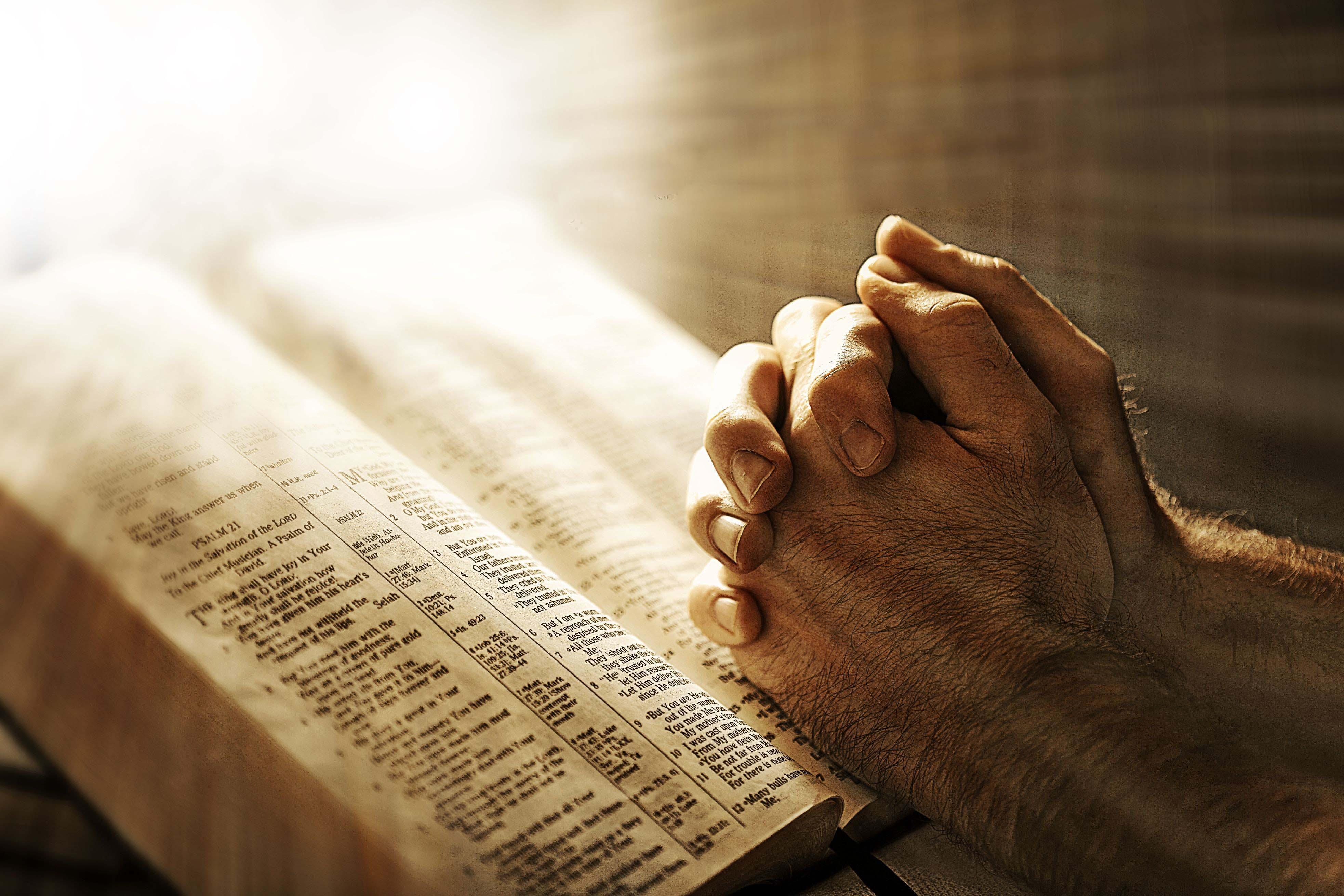 church offering prayer - HD1440×960