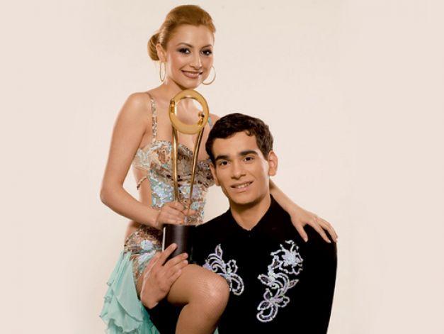Andra și Florin Birică,perechea cîștigătoare a primului sezon Dansez Pentru Tine