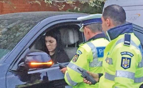 Andreea Tonciu a fost amendată, după ce a parcat neregulamentar