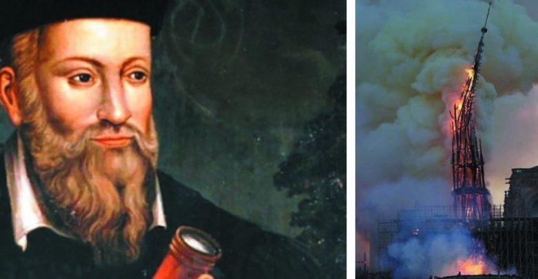Nostradamus, profeție despre incendiul de la Notre Dame