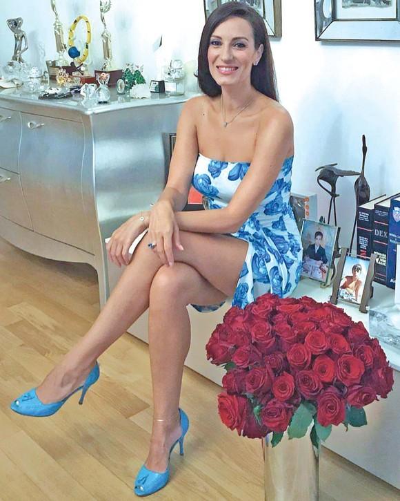 Irina Deleanu este cea care i-a furat inima lui Ion Țiriac. Sursa foto:click.ro