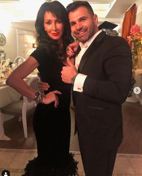 Florin Pastramă, alături de Mihaela Rădulescu. Sursa foto: Facebook