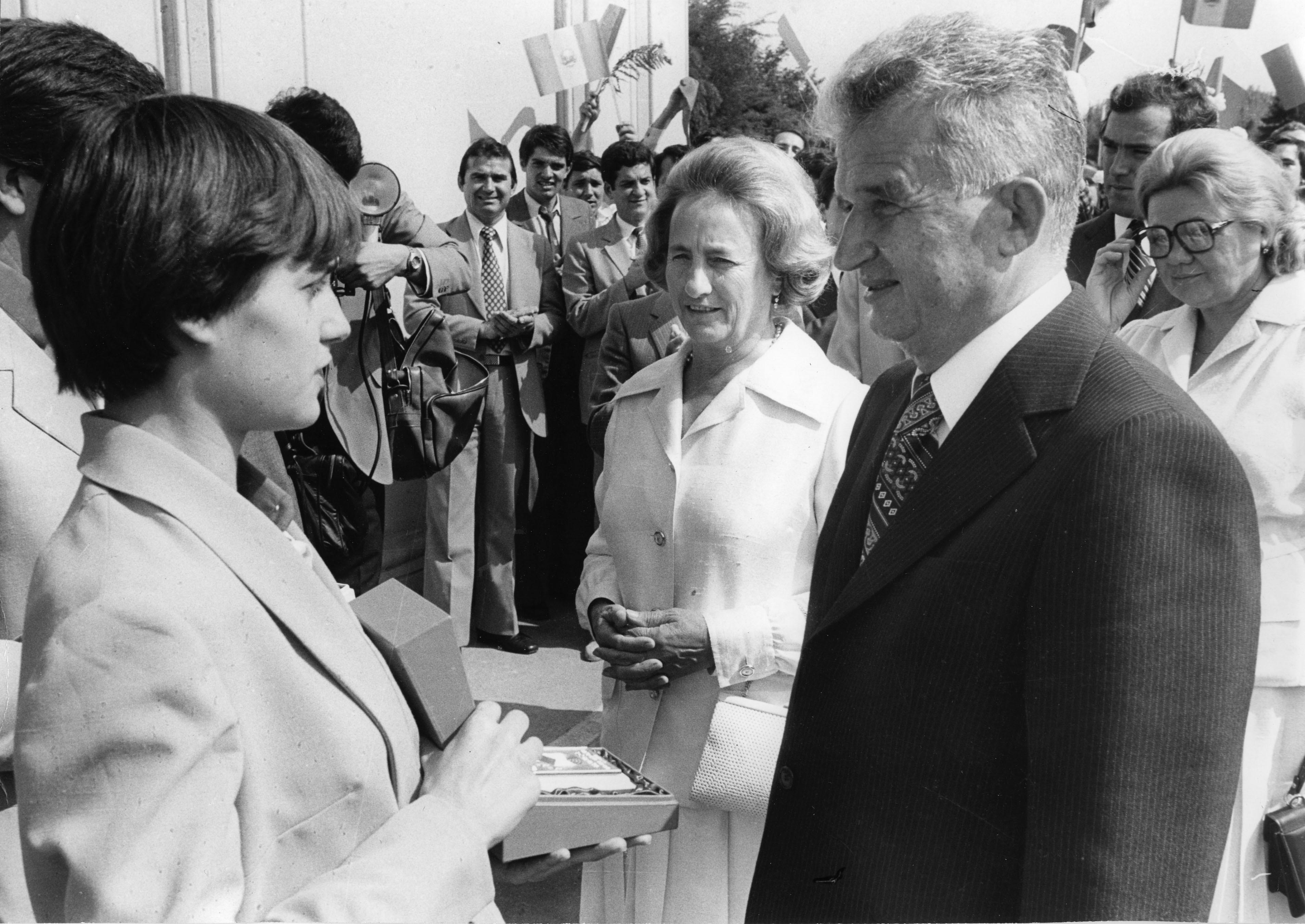 Cuplul de dictatori Elena și Nicolae Ceaușescu. Sursa foto:hepta.ro