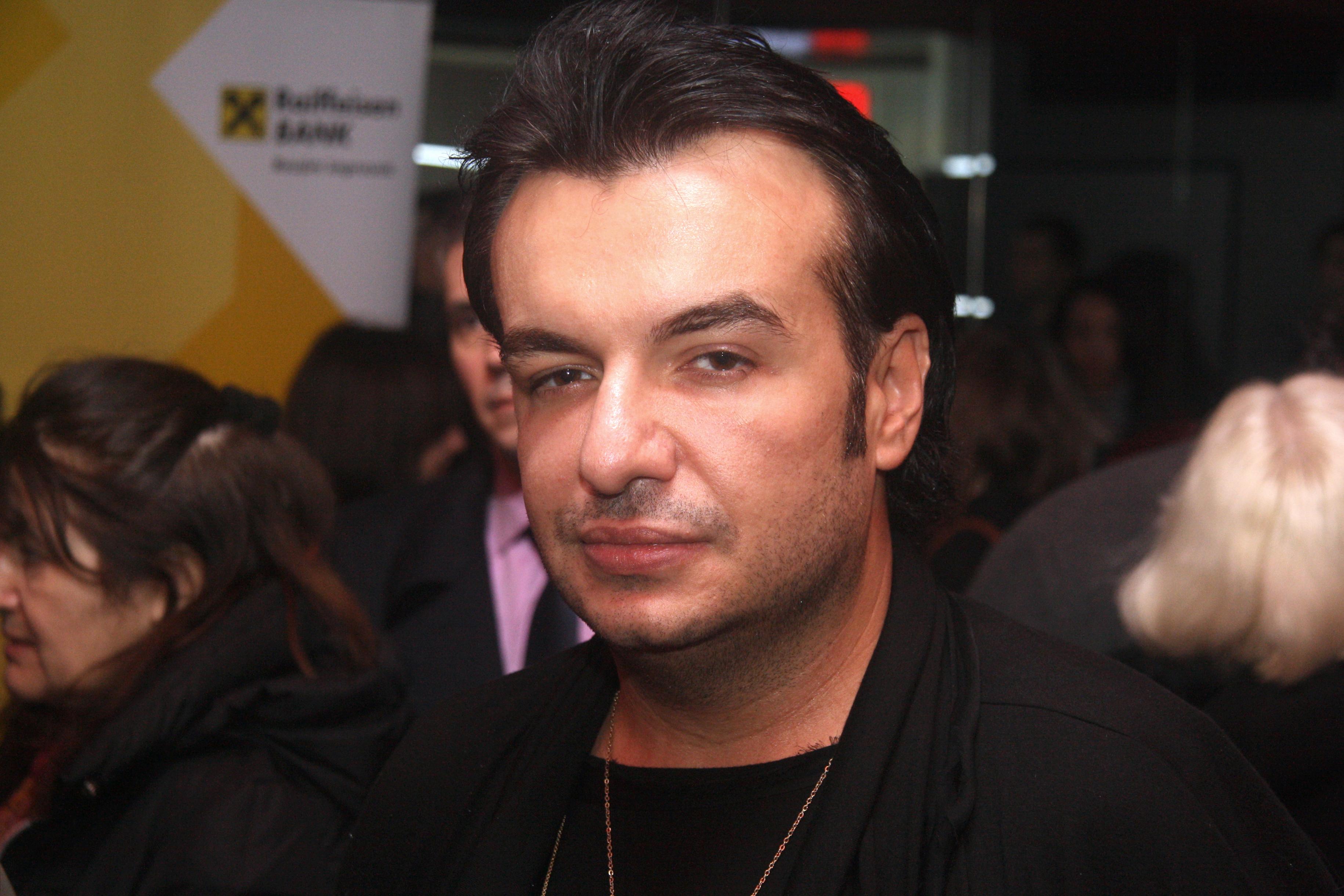 Creatorul de modă Răzvan Ciobanu. Sursa foto:hepta.ro