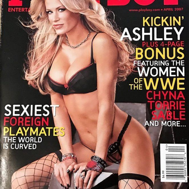 Massaro a apărut pe coperta revistei Playboy, în aprilie 2007