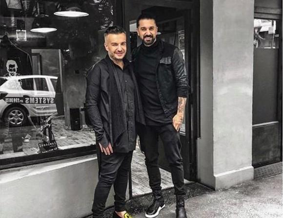 Răzvan Ciobanu și Sorin Oprea erau foarte buni prieteni. Sursa foto:cancan.ro