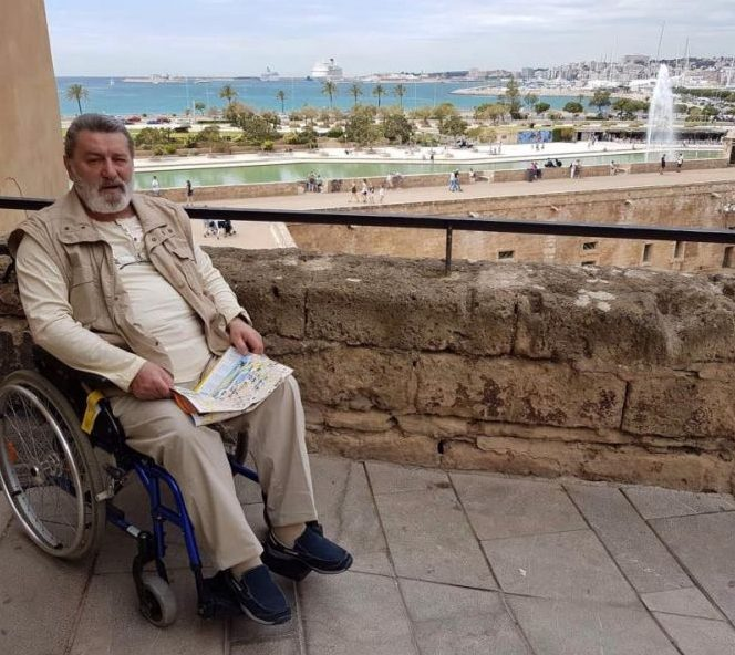 Doru Braia a ajuns în scaun cu rotile din cauza problemelor de sănătate