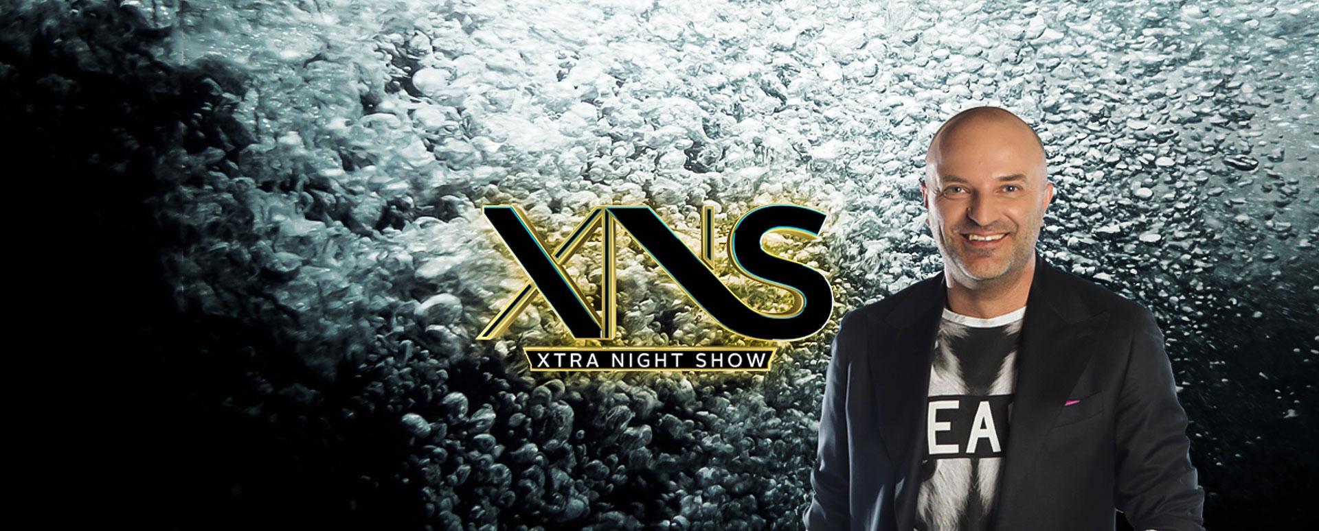 Dan Capatos, prezentatorul Xtra Night Show. Sursa foto.antenaplay