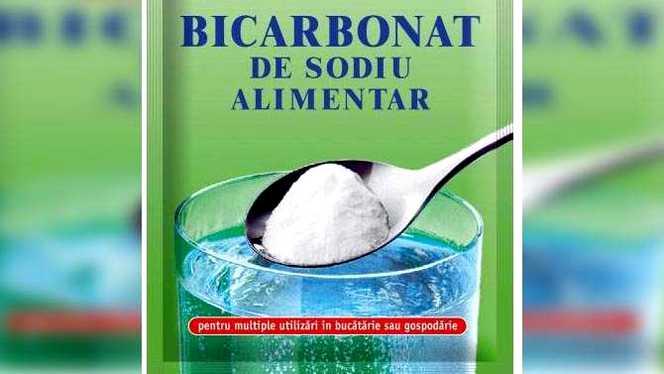 Bicarbonatul de sodiu are o mulţime de beneificii şi utilizări