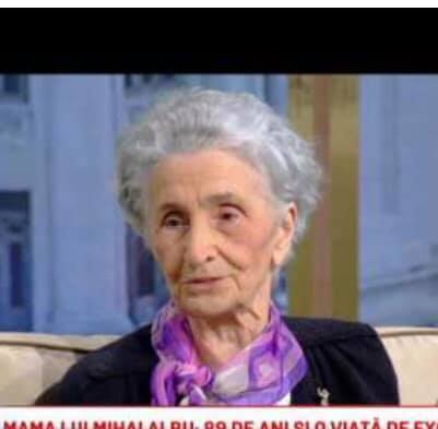 Mama lui Mihai Albu, Zinaida. Sursa foto:libertatea.ro