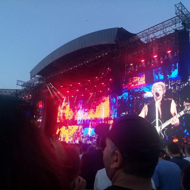 Trupa Bon Jovi, în concert la București