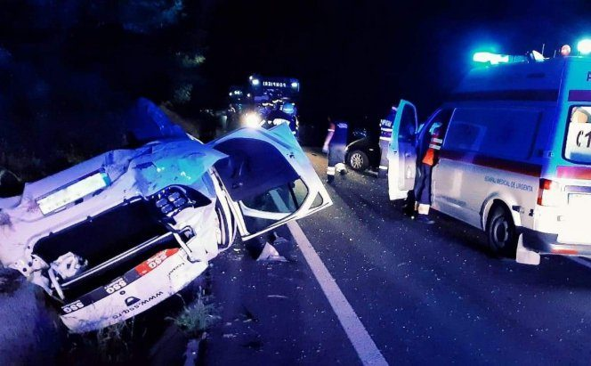 Un alt accident rutier grav s-a petrecut duminică pe DN 6. Sursa foto:realitateadegiurgiu.net