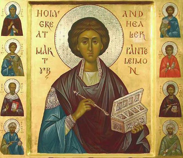 Sfântul mucenic și tămăduitor Pantelimon este sărbătorit pe 27 iulie. Sursa foto: romaniatv.net