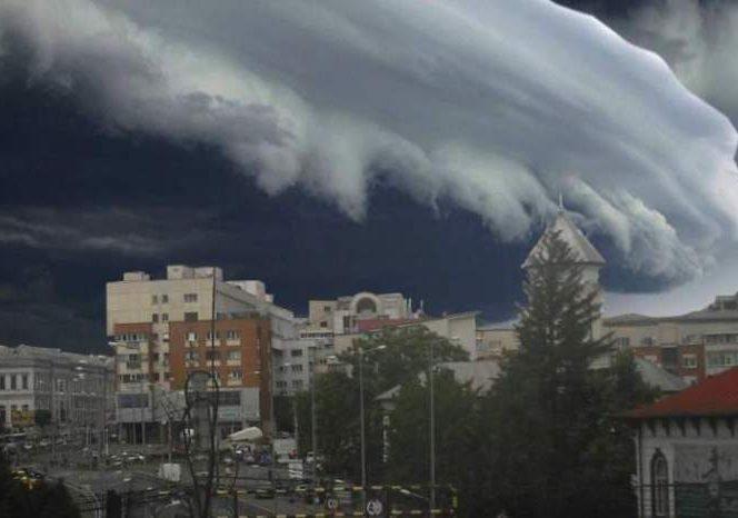 În weekend vom avea parte de noi reprize de ploaie. Sursa foto: a1.ro