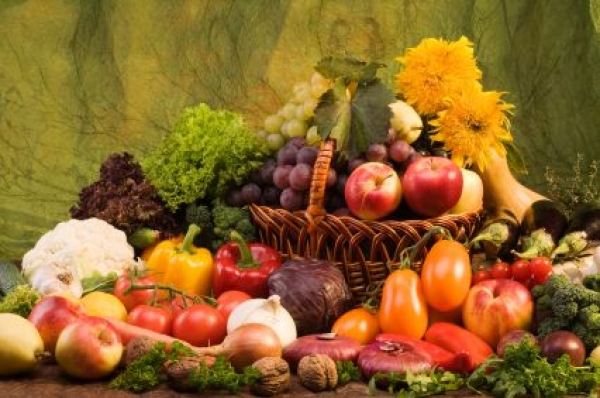 Fruncte și legume proaspete de vară