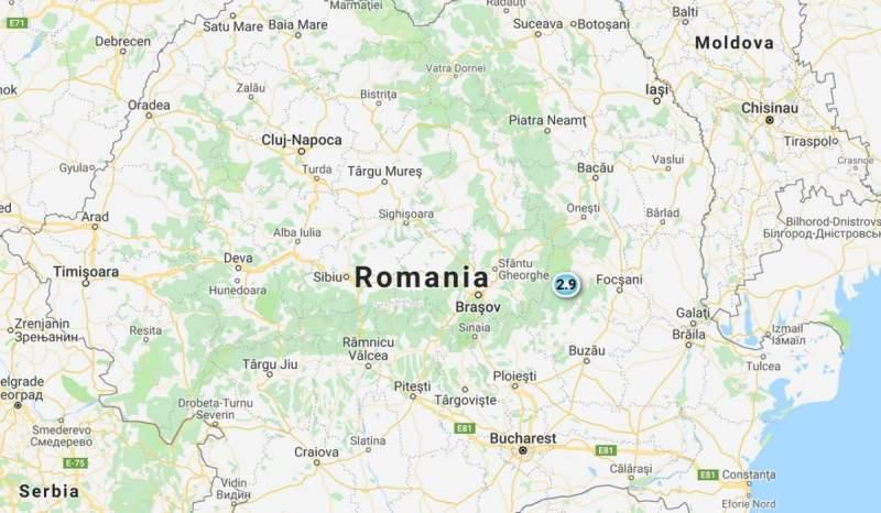 Zona Vrancea este zguduită frecvent de seisme