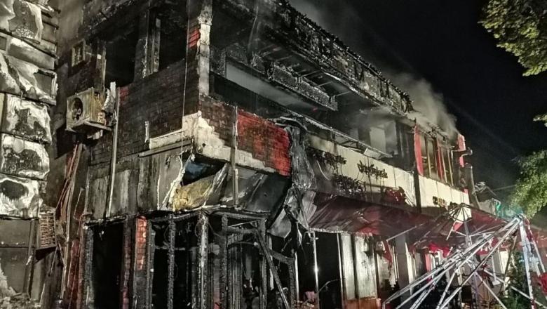 Incendiu restaurant Galați