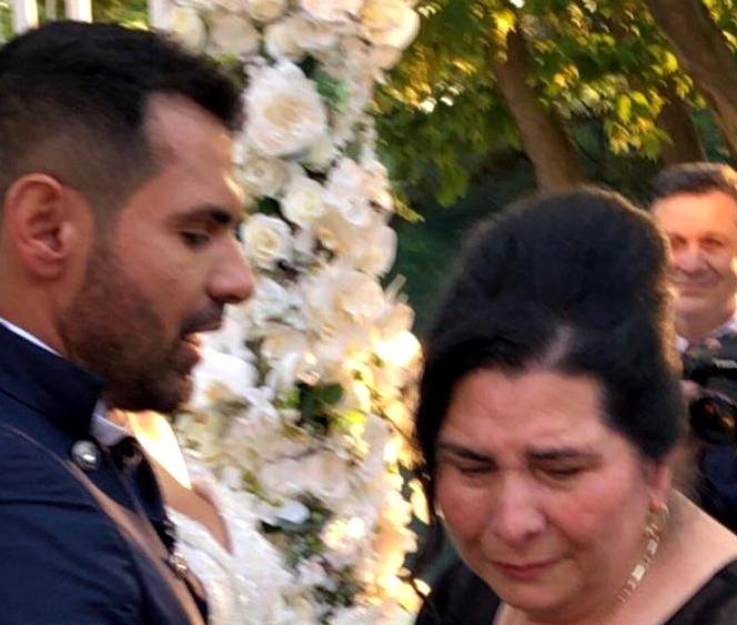 Mama lui Florin Pastramă a plâns la nunta fiului său