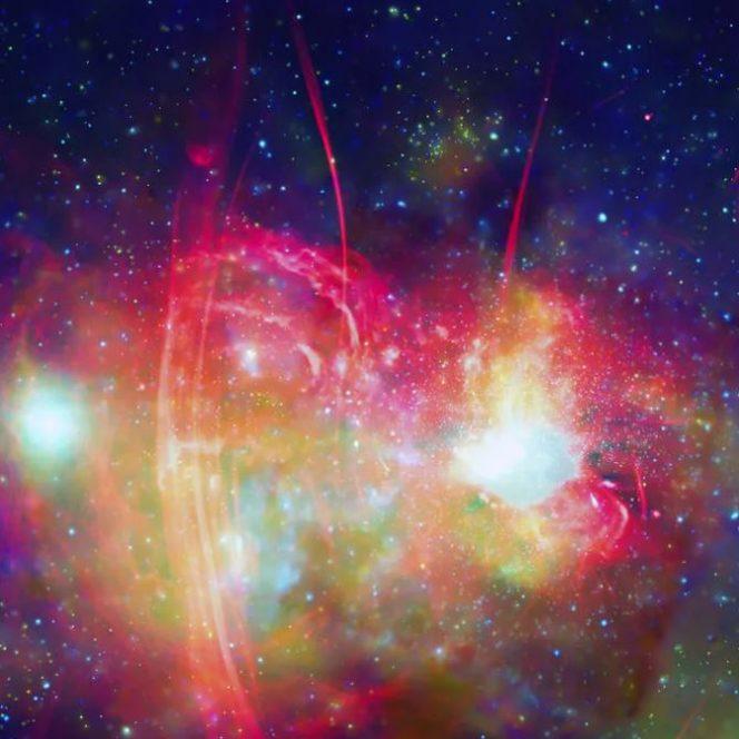 NASA a publicat imagini fenomen, nemaivăzute până acum! Calea Lactee