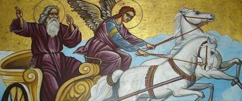 Sfântul Ilie este sărbătorit pe 20 iulie, sâmbătă