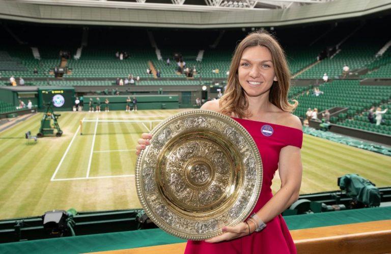 Cine este tanarul care i-a fost PERMANENT alaturi Simonei Halep la Wimbledon: Incerc sa-l pastrez