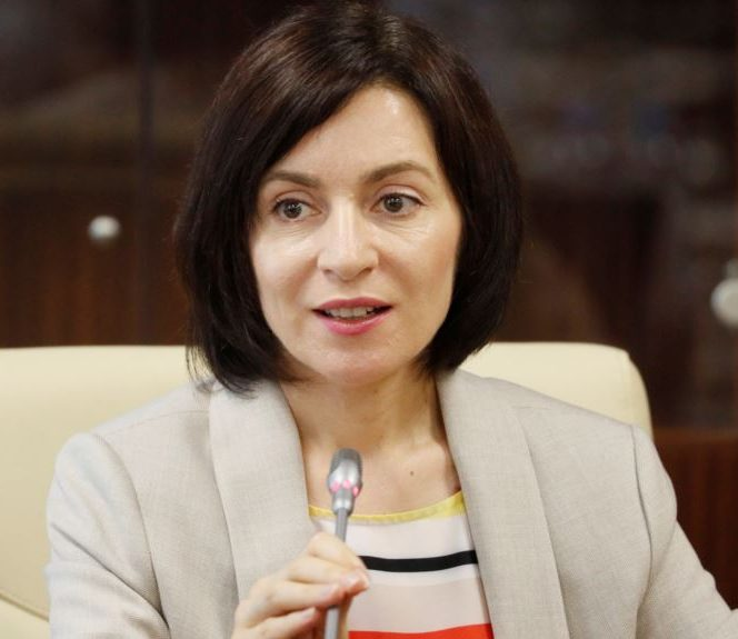 Maia Sandu, premierul Republicii Moldova. Sursa foto: europalibera.ro