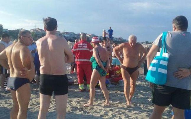 Un chinez s-a înecat în Marea Neagră, la Mangalia! Mangalia