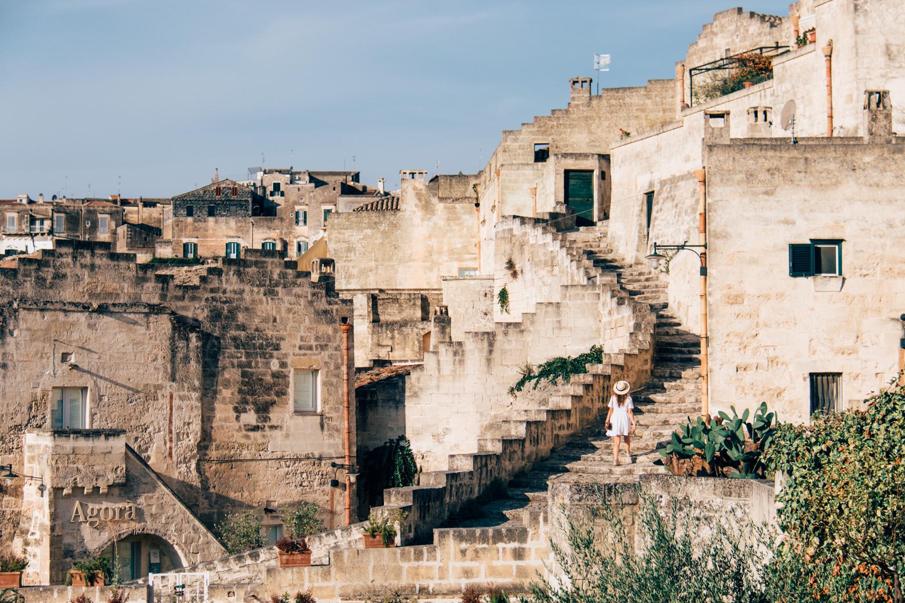 vacante city break vedere cu orasul matera din italia