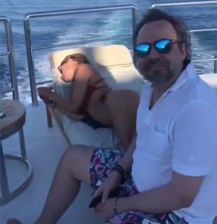 Bobby Păunescu și Alyssa Arce au petrecut pe același yacht de lux
