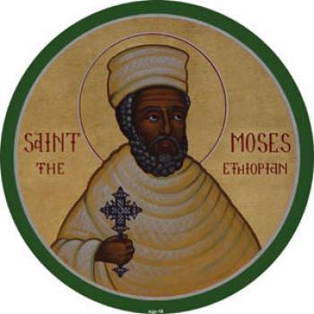 Calendar ortodox, 28 august. Sfântul Cuvios Moise Etiopianul