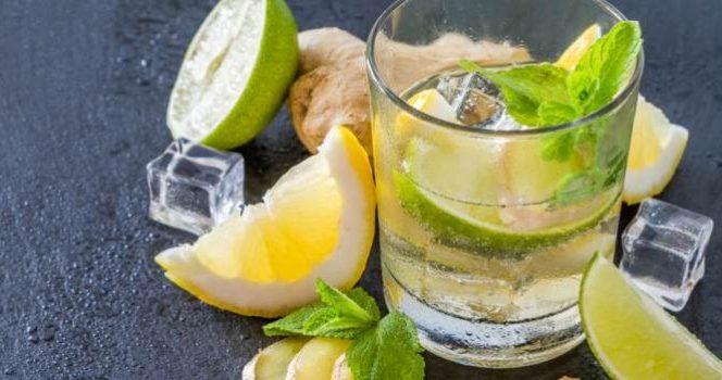 Limonada cu apă minerală, băutura ideală pentru zilele toride de vară. Sursa foto: Culinar-Garbo