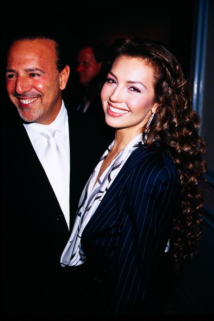 Thalia și Tommy Motola