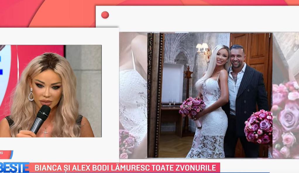 bianca drăgușanu nuntă