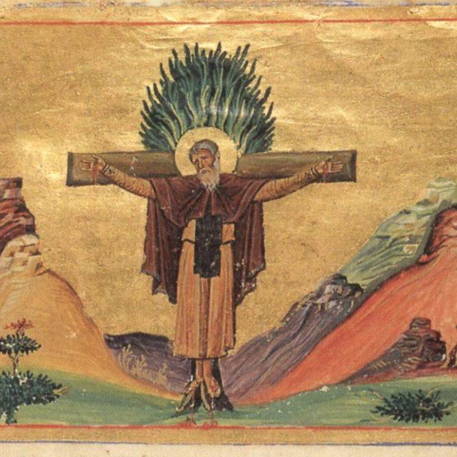 Sfântul Mucenic Pafnutie Egipteanul. Sursa foto: doxologia.ro