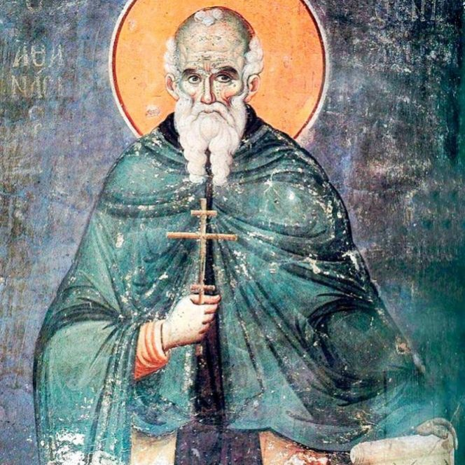 Sfântul mucenic Atanasie. Sursa foto: ziarullumina.ro