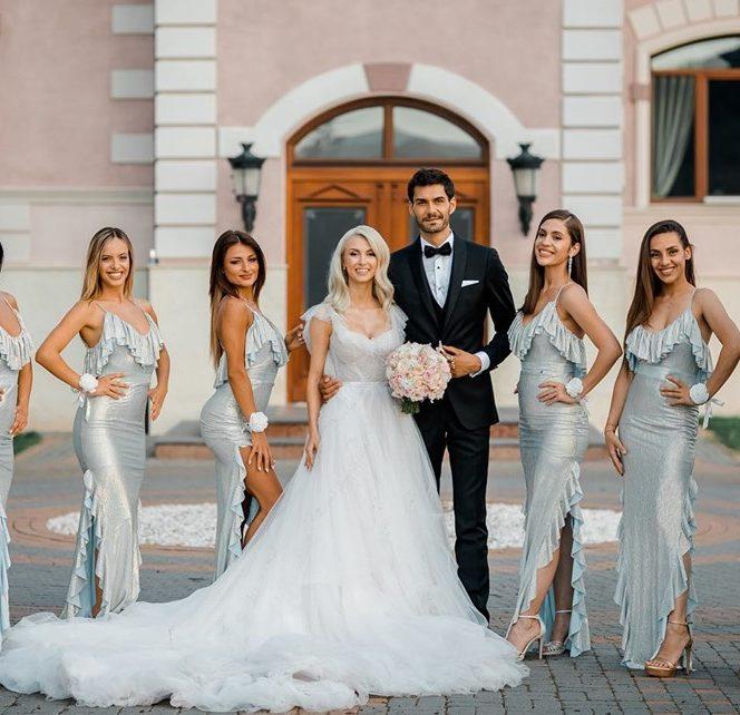 Câți bani au strâns Andreea Bălan și George Burcea după nuntă