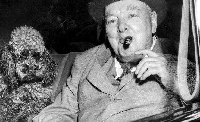 Winston Churchill și vorbele sale pline de înțelepciune. Sursa foto: theatlantic.com