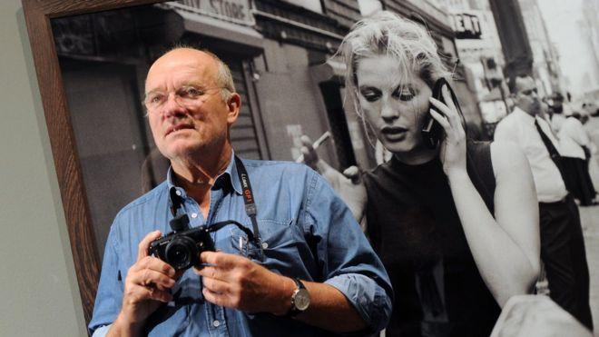 Fotograful s-a stins din viață marți, la 74 de ani. Sursa foto: BBC
