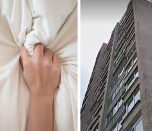 Dublă tragedie! Balcon