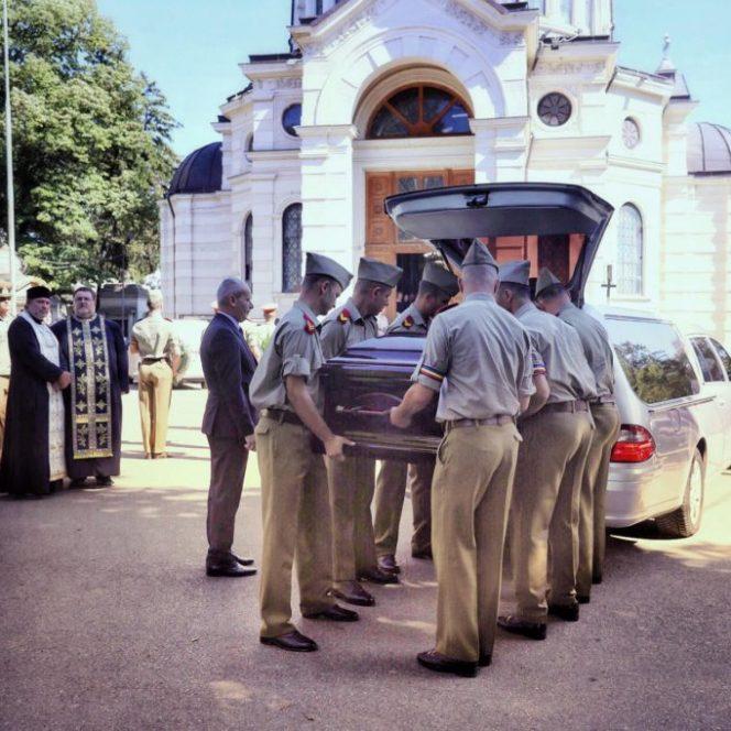 Ducu Darie înmormântat la Cimitirul Bellu