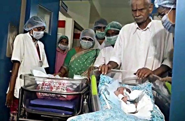 O indiancă a născut gemene la vârsta de 73 de ani