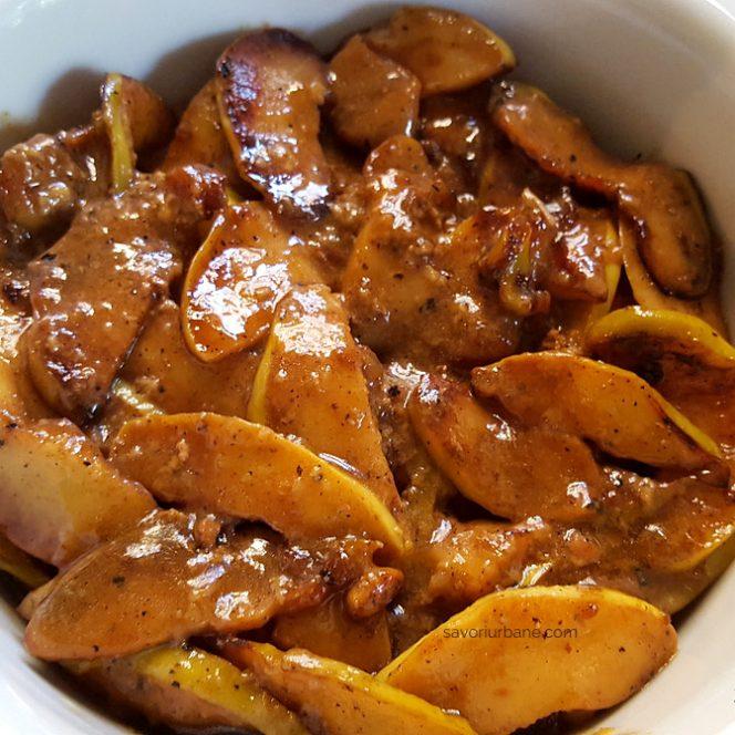 Mâncare de gutui cu carne, un deliciu al zilelor de toamnă. Sursa foto: savoriurbane.ro