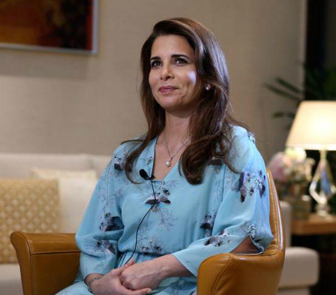 Prințesa Dubaiului a fugit în Anglia cu cei doi copii, de frica soțului. Sursa foto: national.ro