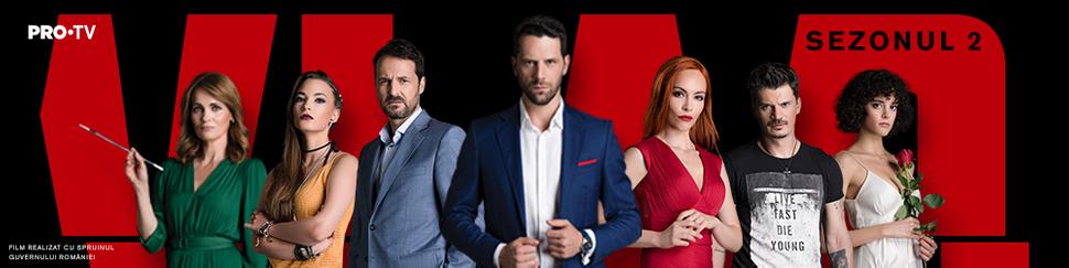 Serialul poate fi vizionat în fiecare zi de luni la Pro TV
