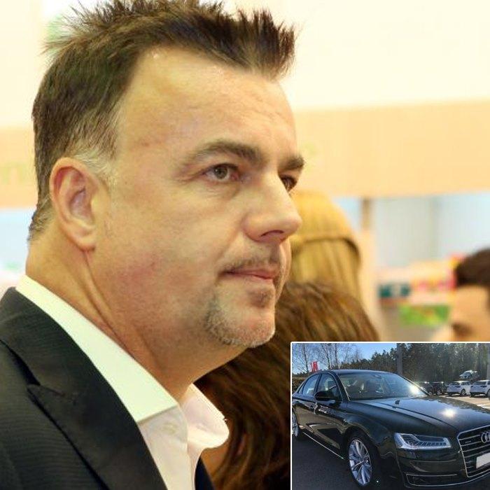 FURIOS și IUTE la MÂNIE după ce i-a fost lovită mașina de lux. Adrian Enache a răbufnit la o CUCOANĂ în centrul Bucureștiului!