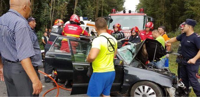 Accident grav în Caraș Severin! Accident