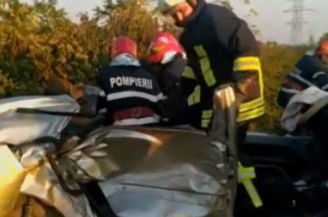 Accident înfiorător în Dâmbovița! Accident
