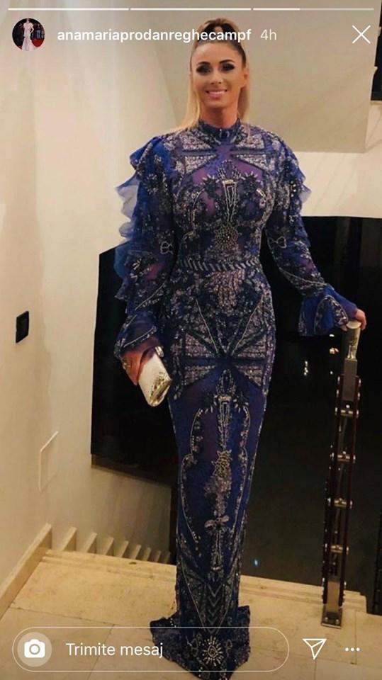 Anamaria Prodan, ținută de senzație la nunta fetei lui Gigi Becali. Sursa foto: Instagram.ro