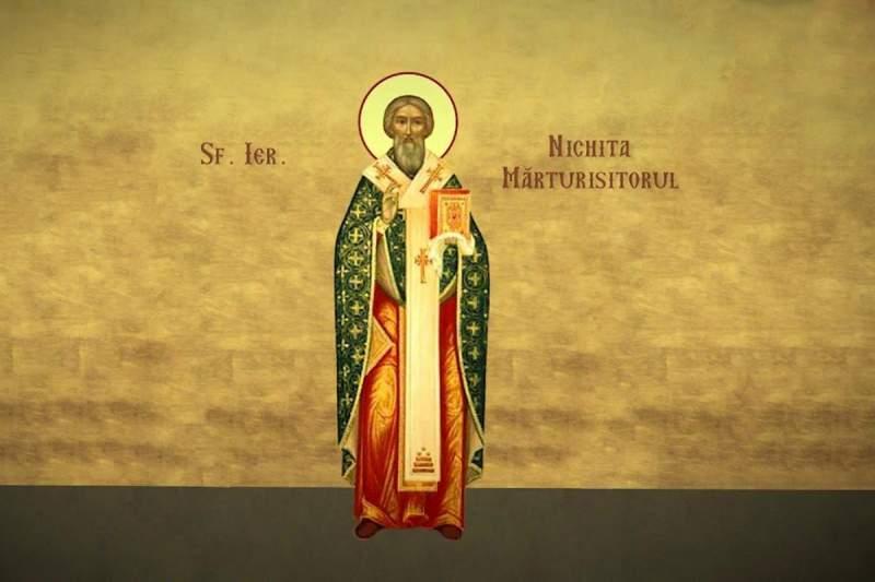 Sfântul Părinte Nichita Mărturisitorul. Sursa foto: a1.ro